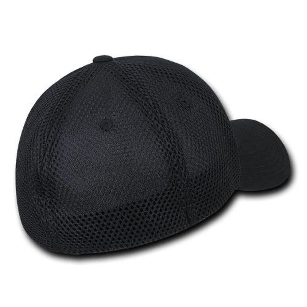 7f9e1465d3e USA US American Flag Tactical Operator Mesh Flex Baseball Fit Hat Cap -  Black at Amazon Men s Clothing store