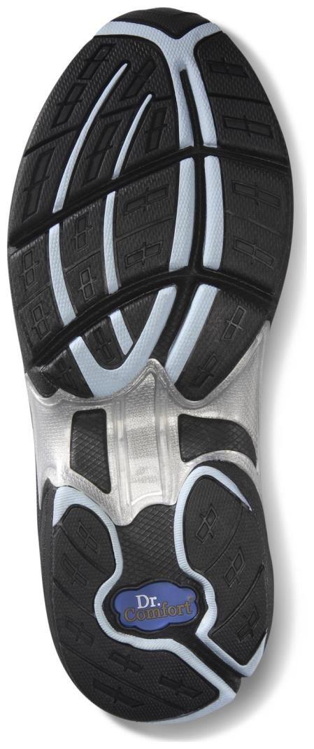 Dr. Comfort Women's Spirit Black Diabetic Athletic Shoes by Dr. Comfort (Image #3)
