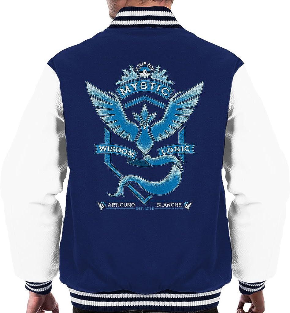 Cloud City 7 Go Team Mystic Crest Mens Varsity Jacket