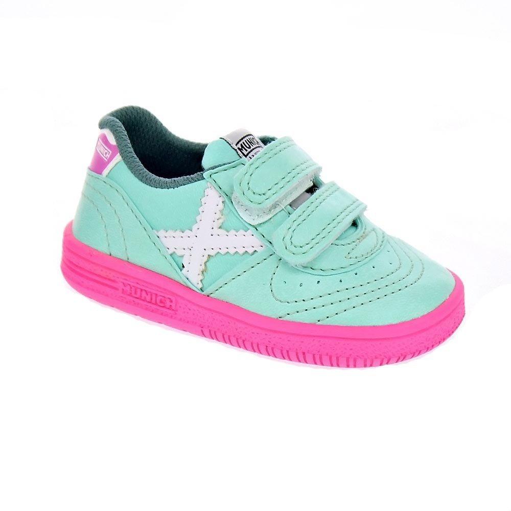 8a3e96077 Munich Sport Baby Gresca VCO - Zapatillas Niña Verde Talla 20  Amazon.es   Zapatos y complementos