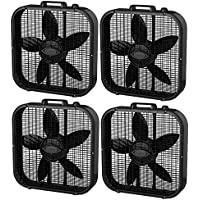 Lasko 20-Inch Box Fans (4 Pack)