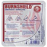 "Burnshield Premium Sterile Emergency Burn Dressing 4""x4"" (10cm x 10cm) ""Cools The Burn"""