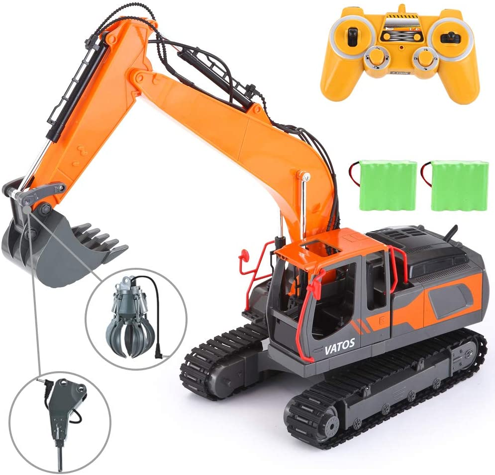 Top 16 Best Remote Control Excavator (2020 Reviews & Buying Guide) 2