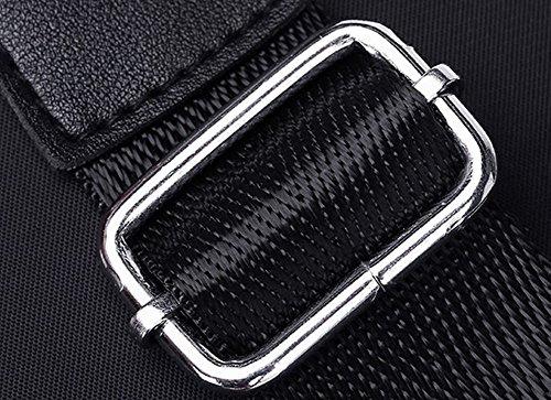 Women Bags Canvas Pants Casual Fashion Black Allhqfashion Zipper Shoulder xZ8nOEqZwt