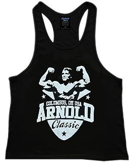 508169e6 Arnold Schwarzenegger Men's Bodybuilding T Shirt Muscle Workout Gym ...