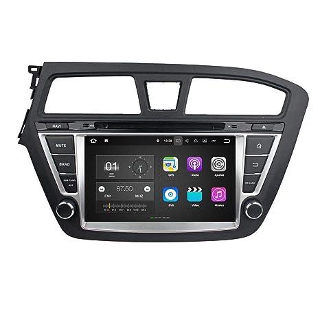Android 7.1 Autoradio Coche para Hyundai I20(2014-2018) LHD, 2 GB ...