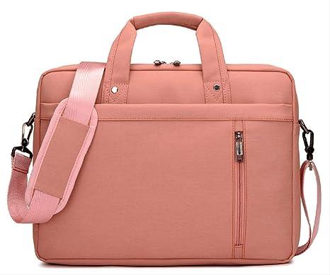 yingteng Impermeable 17.3 14.6 14 Estuche para Laptop de 13.3 Pulgadas para Bolso de Hombro para portátil Bolso de Hombro para Hombre Rosa de 13,3 Pulgadas: Amazon.es: Deportes y aire libre