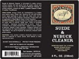 Bickmore Suede & Nubuck Cleaner - Remove Water Dirt Oil Stains From Shoes Boots Purses Handbags & More,8 fl oz