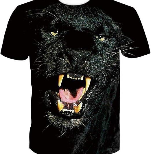 Camisa de compresión para Hombre Pantera Negra 3D Camiseta de Manga Corta con impresión Digital de Tendencia Europea y Americana: Amazon.es: Ropa y accesorios