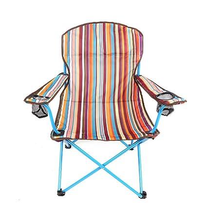 Homelx Portátil silla plegable al aire libre silla de la ...