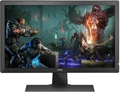 BenQ Zowie 24 inch Full HD Gaming Monitor - 1080p 1ms Response Time for Console, Competitive Esports Gaming, Color Vibrance, Dual HDMI, DVI-D, D-Sub (RL2455S)