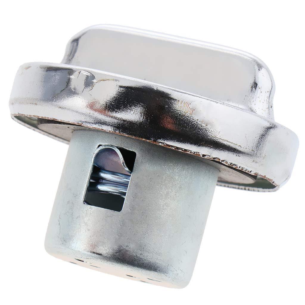 perfeclan Universal Metall Motorrad Roller Kraftstofftank Abdeckung Schutz Kraftstoffpumpe Ausbau Deckel Tankdeckel