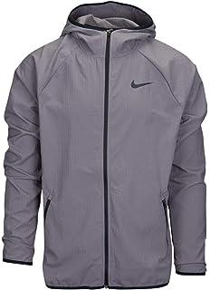 aeb17a839d Nike Men s Flex Stretch Lightweight Full Zip Hooded Windbreaker Jacket  Dri-Fit