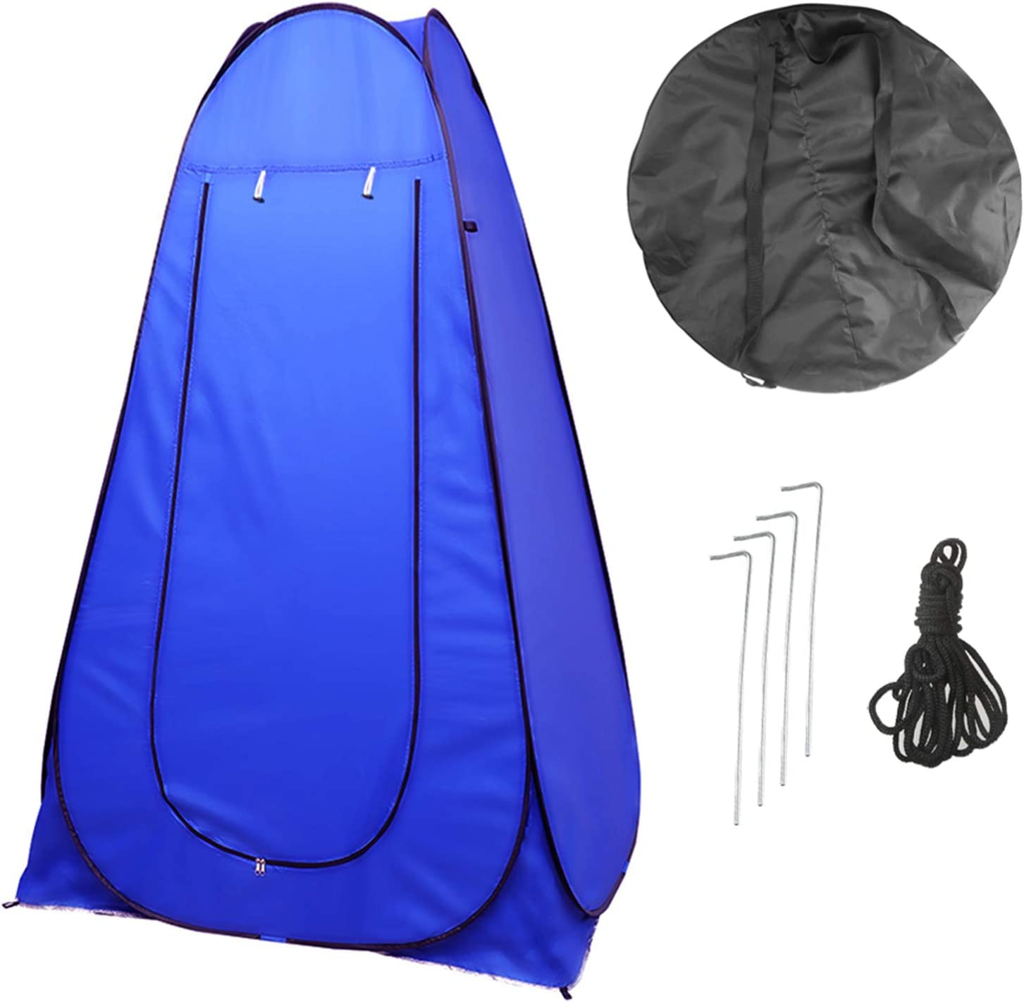 Vinteky Portable Instant Pop Up Tent Outdoor Camping Toilet Dressing Shower Changing Tent /& Toilet Privacy Room For Camping Beach Caravan Picnic Fishing And Festivals Holidays