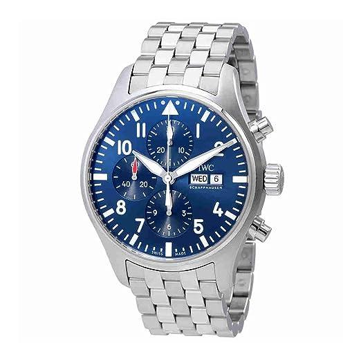 IWC Pilot Le Petit Prince automático cronógrafo Mens Reloj iw377717: Amazon.es: Relojes