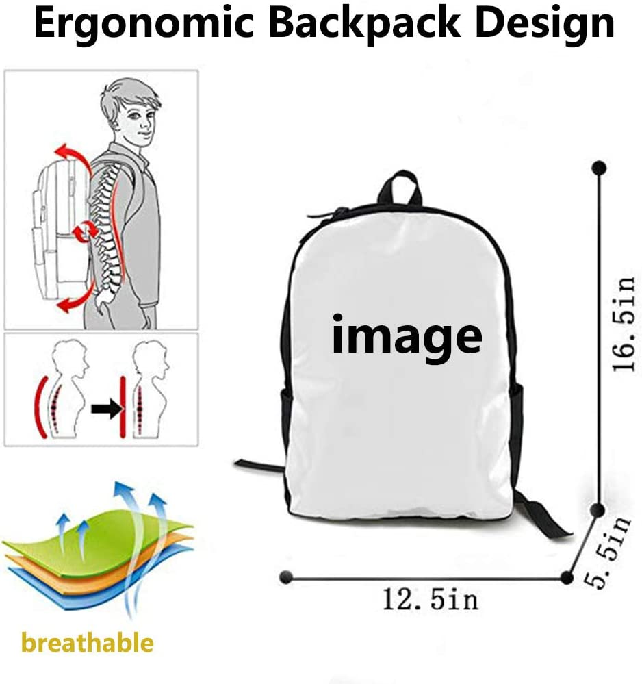 O-X/_X-O Unisex Travel Backpack Polyester School Backpack Rucksack Laptop Backpack Classic Hamburgers Red Backpack for Everyday Student Book Bag