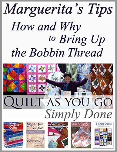 Bringing Up the Bobbin Thread & Pressing Blocks ()