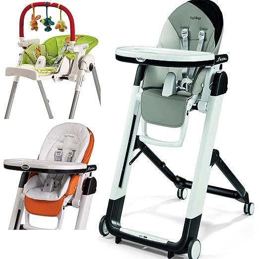 Amazon.com: Peg Perego Siesta de alta silla, con cojín de ...