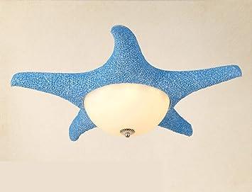 Plafoniere Per Camera Ragazzi : Czz camera per bambini stella marina mediterraneo lampada da