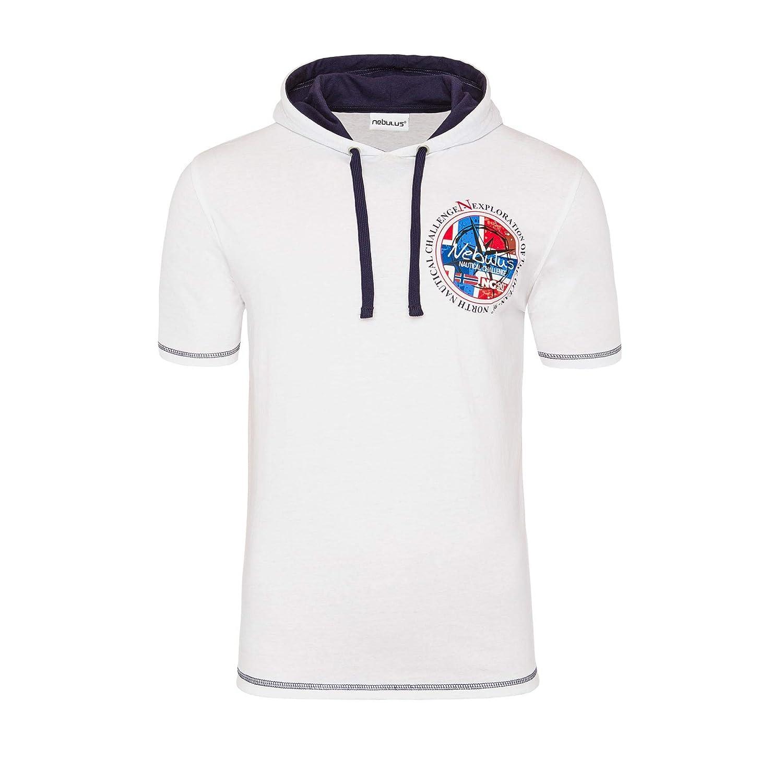 Nebulus Camiseta Manga Corta Sting Blanco S: Amazon.es: Ropa y ...