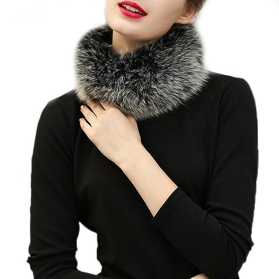 Samber Bufandas de Cuello Mujer Estolas de Pelo Sintético para Fiesta Collar para Decorar Vestidos (Gris): Amazon.es: Ropa y accesorios
