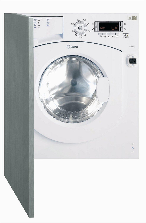 Scholtes SDLE 129 (EU) Integrado Carga frontal B Blanco lavadora ...