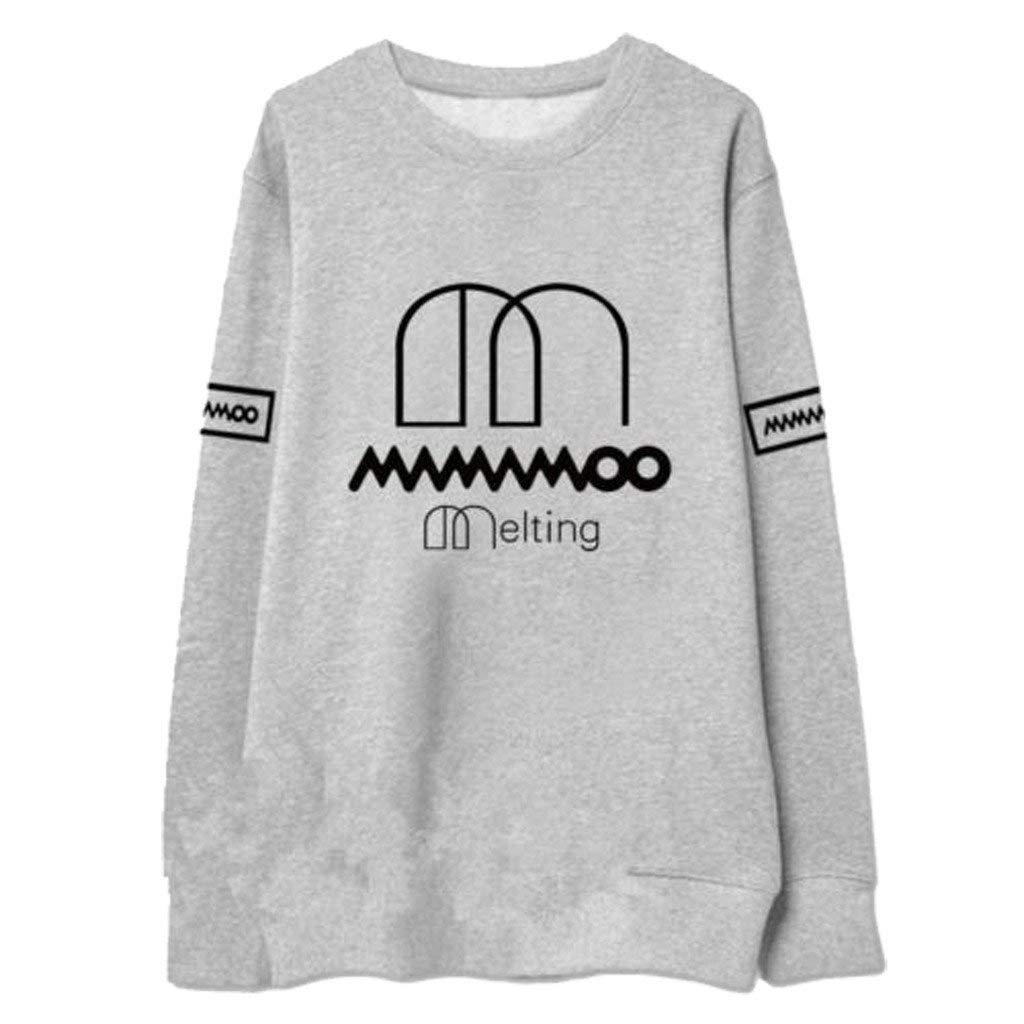Discovery Kpop MAMAMOO Sweater Wheein Solar Hwasa Moonbyul Pullover Sweatshirt