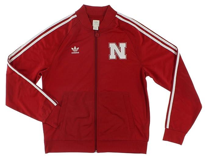 adidas para Hombre Chaqueta de Universidad de Nebraska ...