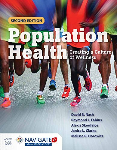 Population Health: Creating a Culture of Wellness Front Cover