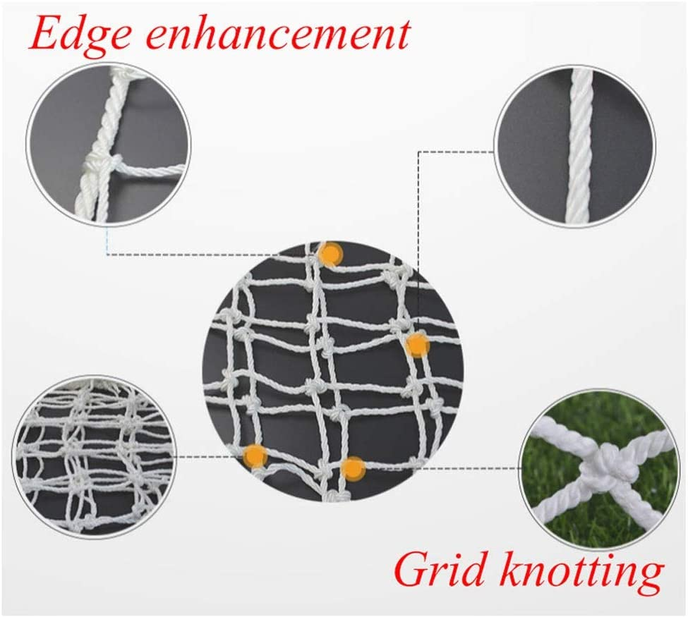 TorchJPA Stair Protection Net Of Outdoor Fence Kindergarten Bird Net Multi-function Multi Purpose Full-size It Can Be Customized Hemp Rope Woven Net Automobile Cargo Protection Home Decoration Soil Ne