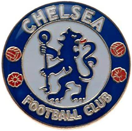 Chelsea Fc Football Club Metal Pin Badge Crest Blue White Logo