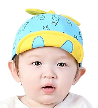 8515107c954 LAAT Infant Baby Toddler Baseball Cap Cotton Hat Sun Protection Bucket Spring Summer  Caps for Baby Girls Boys  Amazon.co.uk  Clothing