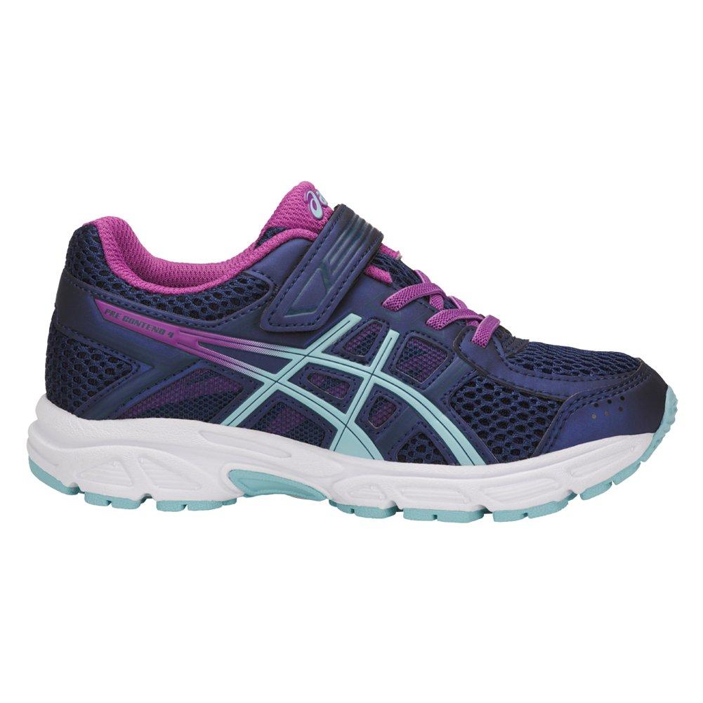 ASICS - Unisex-Child Pre-Contend 4 PS Shoes, Size: 11 M US Little Kid, Color: Indigo Blue/Porcelain Blue/Orchid C709N