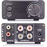 SMSL SA-36A Pro HiFi Integrated Mini Digital Stereo Audio 20WPC Amplifier AMP + Power Supply Black
