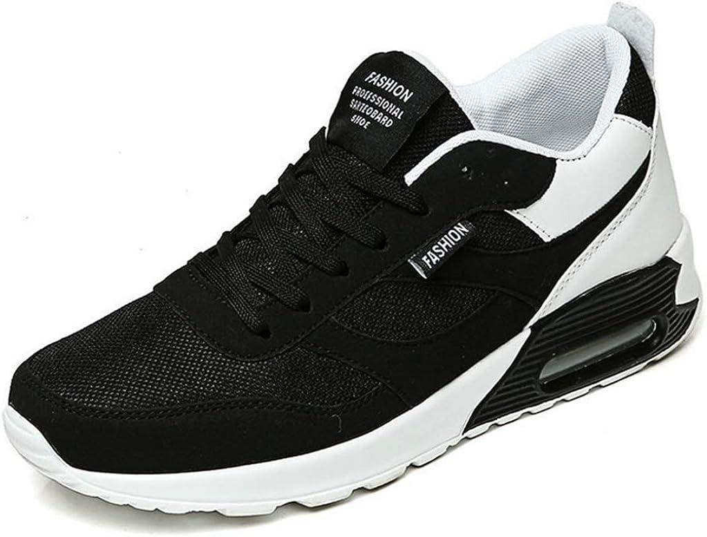 Men Running Shoes Platform Casual Round