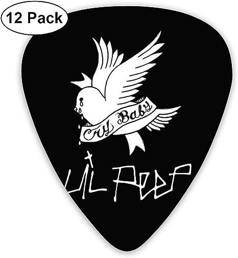 ElijahO Lil Peep Crybaby púas de guitarra de celuloide (12 ...