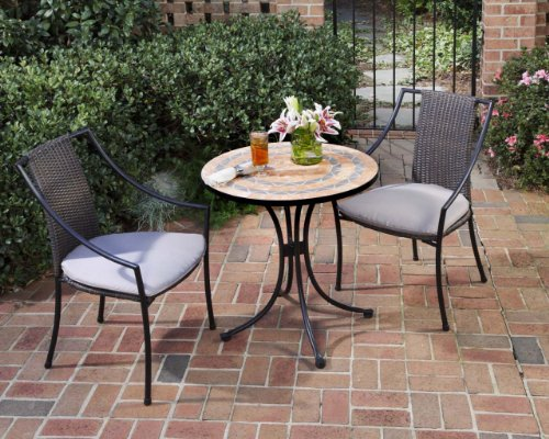 Home Styles 5603 34 Bistro Terra Cotta Tile Top Dining Table