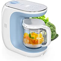 Baby Food Maker Eccomum Baby Food Processor Multi-Function Cooker, 𝘚𝘵𝘦𝘳𝘪𝘭𝘪𝘻𝘦𝘳 and Blender to Steam, and Puree with…