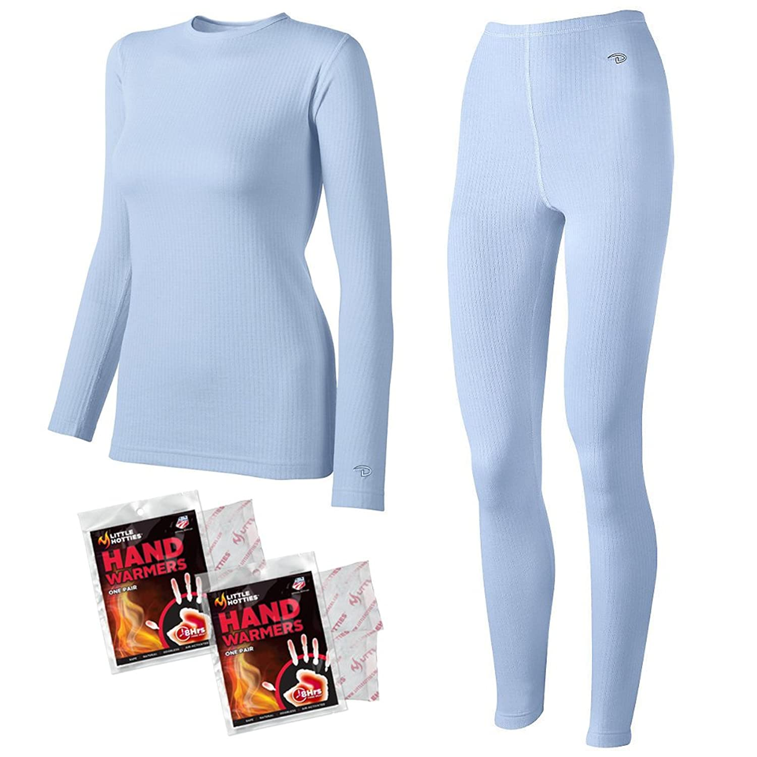 Duofold Women's Tagless Thermal Shirt and Long Underwear Base Layer