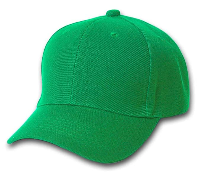 TOP HEADWEAR Baseball Cap Hat- Kelly Green at Amazon Men s Clothing ... 9863b82f24c