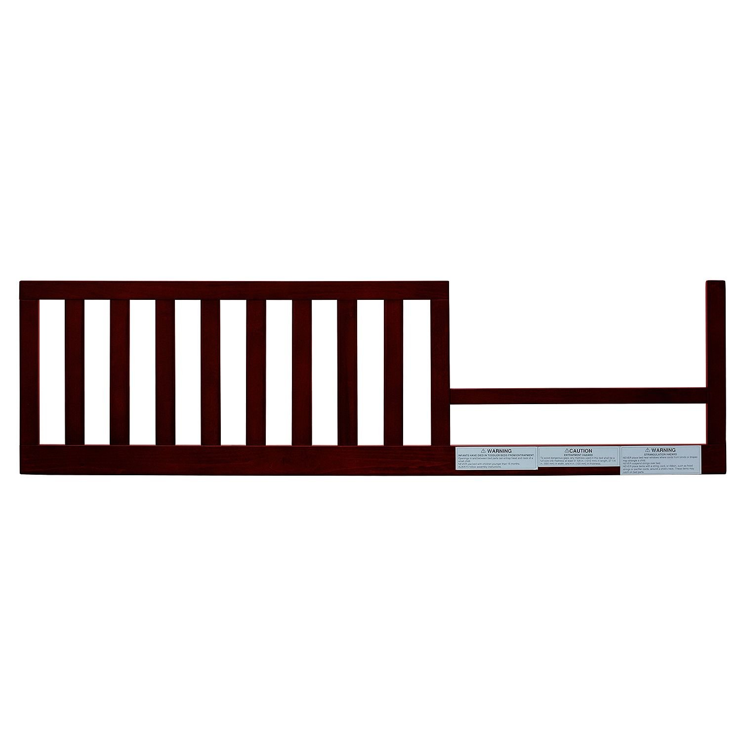AFG Lia Convertible Crib Toddler Guardrail, Cherry, Lead and phthalate safe 100% sustainable New Zealand pine wood. - (Original from manufacturer - Bulk Discount available)