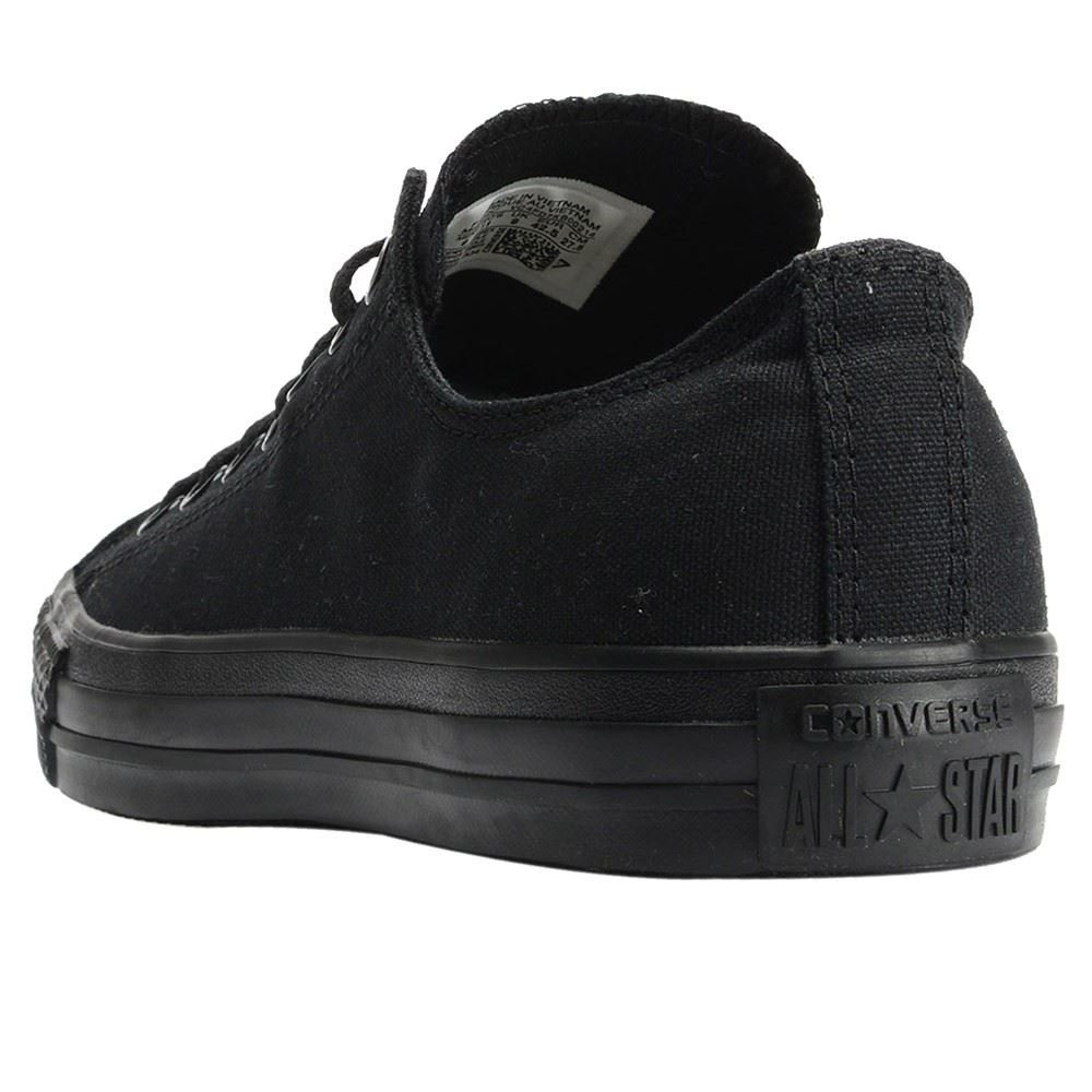 Converse Unisex Chuck Taylor All Star Low Top Black Monochrome Sneakers - 9 D(M) US by Converse (Image #9)