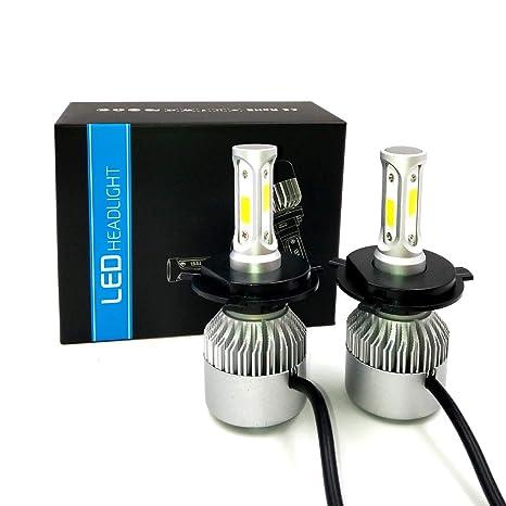 Kit de conversión de bombillas LED para Faros de coche, Bombillo de 9004 9007 H4 H11 ...