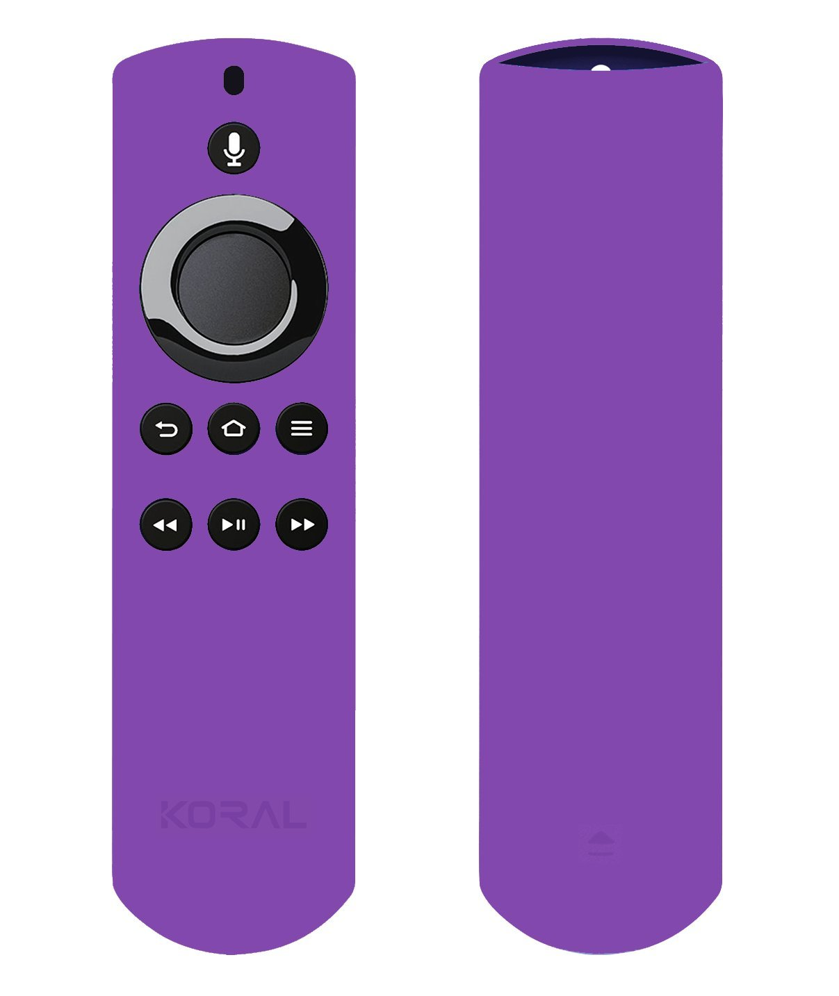 Koral Case for Alexa Voice Remote for Fire TV Stick, Fire TV Streaming Media Player, and Fire TV Cube (Purple)