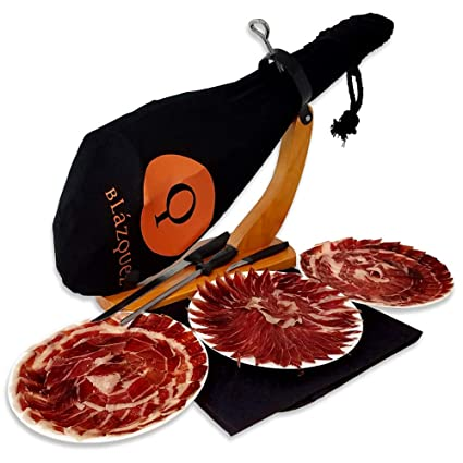 Iberico Ham 100% Pata Negra, curado durante 2 años, 40,64 a ...