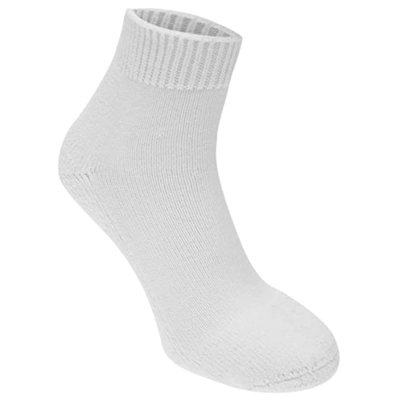 Slazenger Hombre Pro Mini Calcetines De Tenis Acolchados Blanco EU 41-46 (UK 7