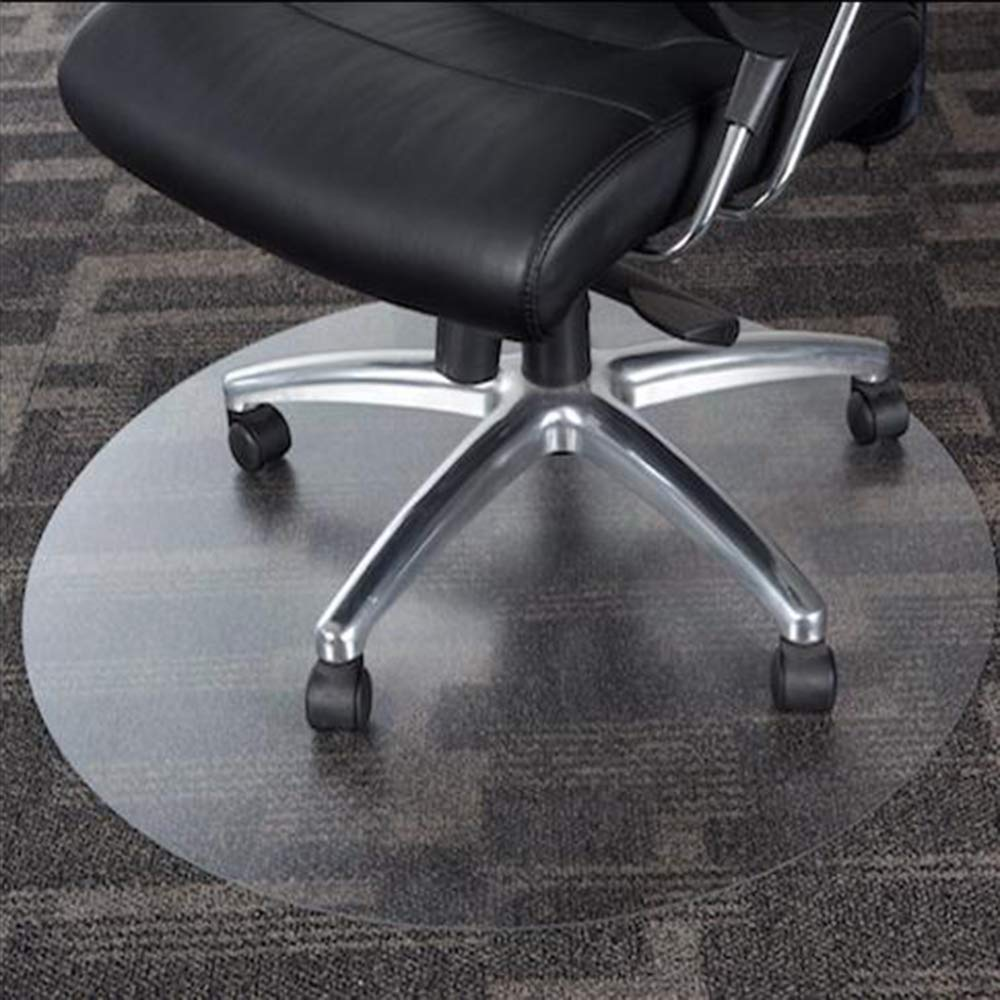 Chair Floor Mat Protector Frosted Translucent Office PVC Plastic Non Slip Carpet Protection,Thicken-160cm