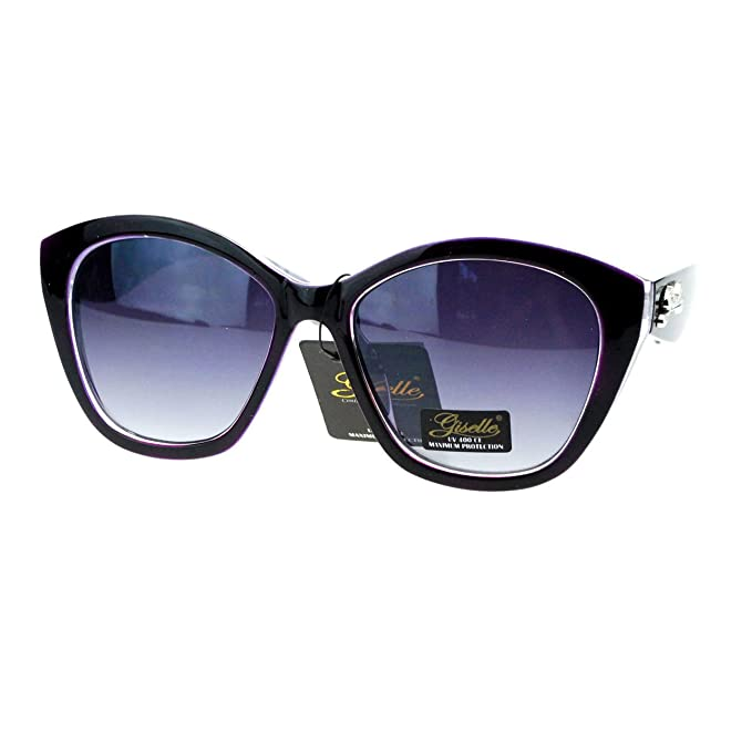 Amazon.com: Giselle anteojos de sol Lunettes Womens mariposa ...