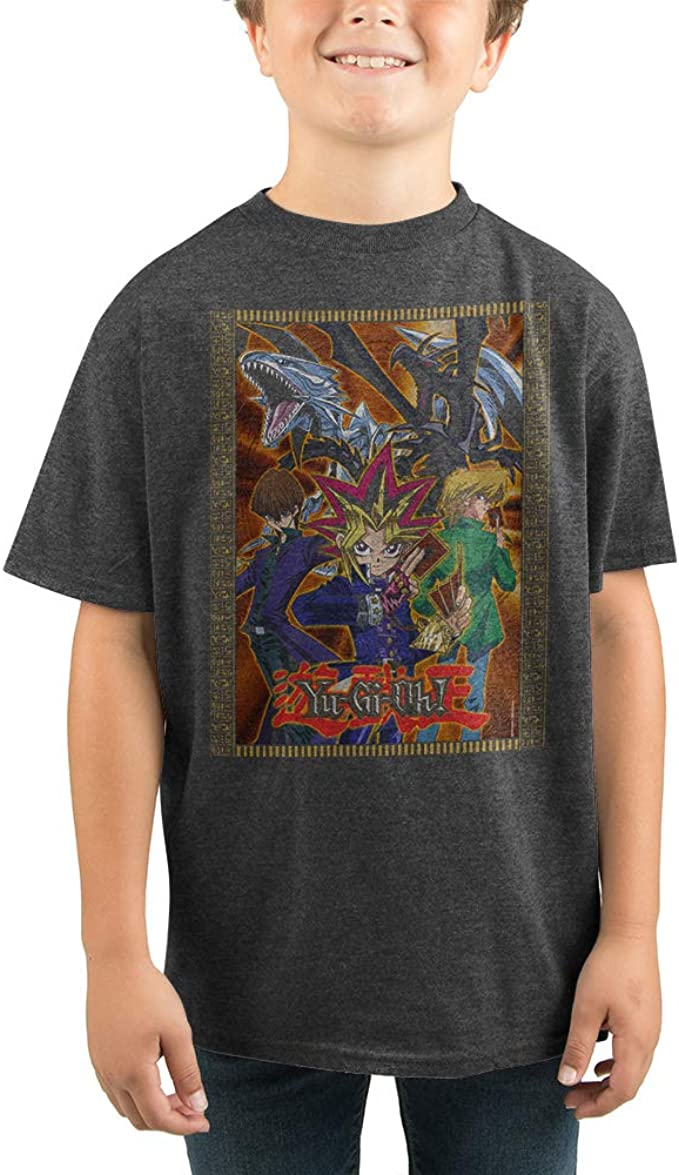 Yu-Gi-Oh Yu-Gi-Oh - Camiseta de Manga Corta para niño