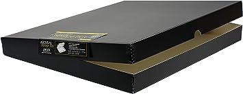 Black Color Lineco Clamshell Archival Folio Storage Box 11x17 Inch Size